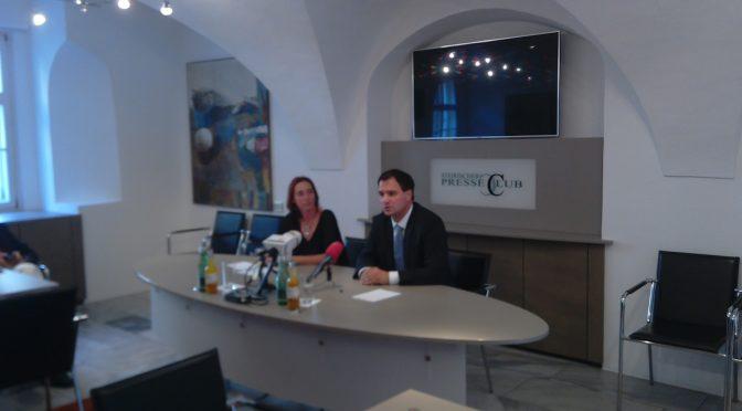 282, SPÖ-Chef Michael Schickhofer im Presseclub