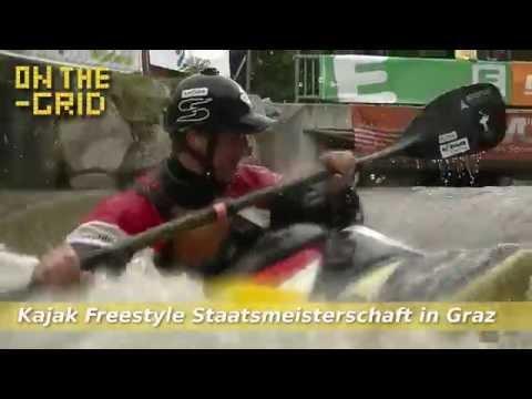 Teaser: Kajak Freestyle Staatsmeisterschaft in Graz
