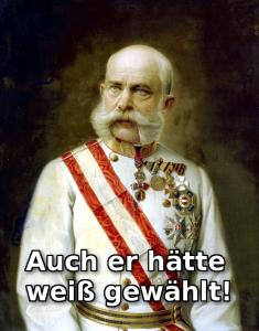 BIld: Unterm Kaiser hätt's das nicht gegeben.