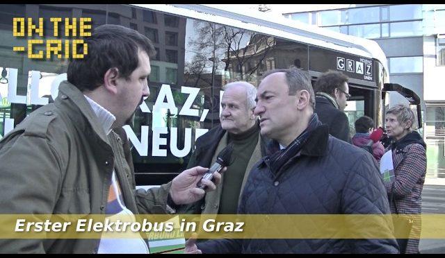Mario Eustacchio (FPÖ) über die neuen Elektrobusse in Graz, On the Grid Ep. 93/3