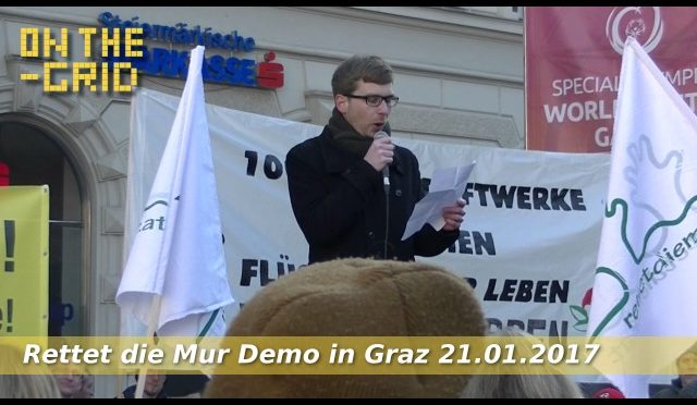 Rettet die Mur Demo – Rede von Robert Krotzer, ON THE GRID Ep 96/2