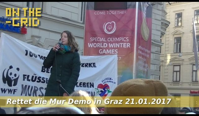 Rettet die Mur Demo – Rede von Tina Wirnsberger, ON THE GRID Ep 96/1