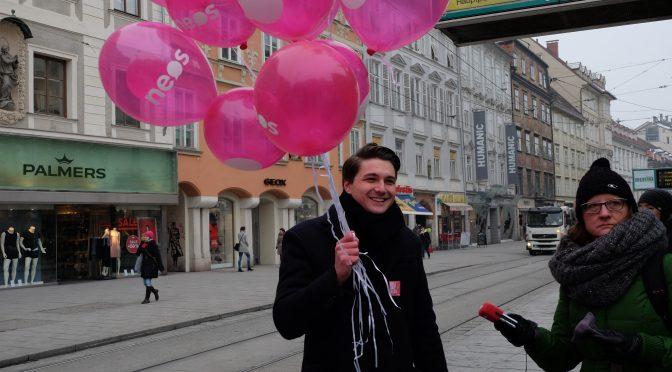 312, NEOS Graz – Ein pinkes Einhorn im Grazer Gemeinderat!