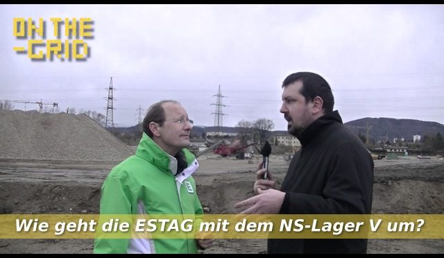 Murkraftwerk Baustellen Begehung – Interview mit Urs Harnik Lauris (Energie Steiermark), ON THE GRID EP. 98/1