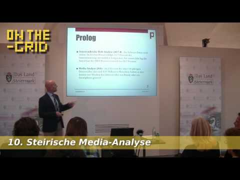 Youtube und Facebook versus klassische Medien – 10. Steirische Media-Analyse, On The Grid Ep. 101