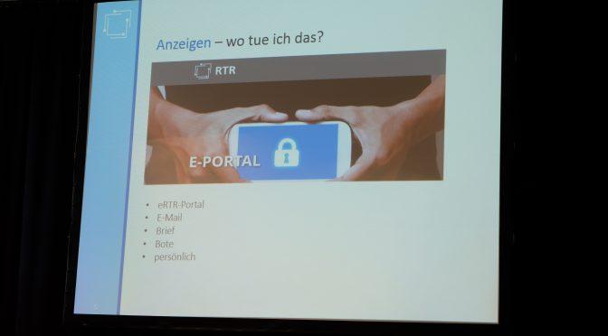 Mach's richtig – Youtuber und das Rundfunkrecht, Mag. Stefan Rauschenberger, ON THE GRID Ep. 105/2