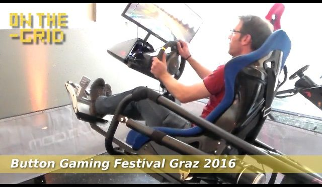 Button Gaming Festival Graz 2016, Harald Koberg (Ludovico), On The Grid Ep. 107/1