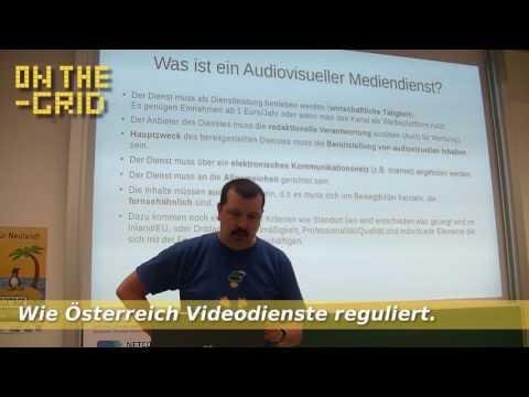 Vermintes YouTube, wie Österreich Videodienste reguliert. On The Grid Ep. 106