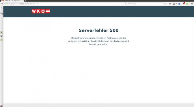 Wirtschaftskammer Webseite – Ausfall behoben!