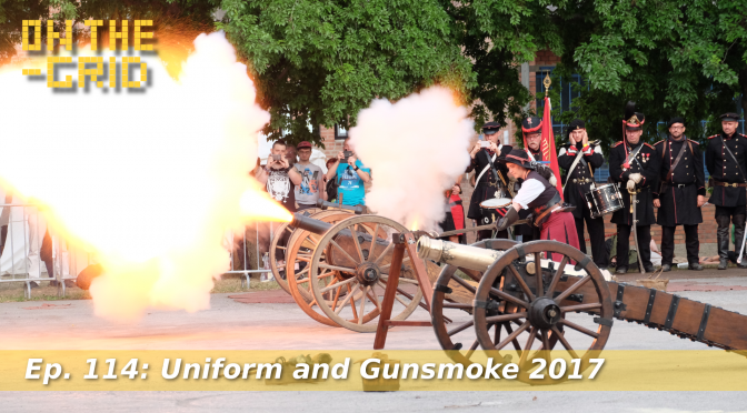 Uniform and Gunsmoke 2017 Trailer, Military Show in Vienna, On The Grid Ep 114