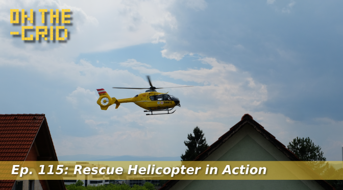 Rescue Helicopter Christophorus 12 (ÖAMTC) in Action, On the Grid Ep. 115