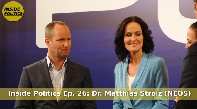 Matthias Strolz bei der BP-Wahl 2016 zu Flüchtlingskrise und Irmgard Griss, Inside Politics Ep 26