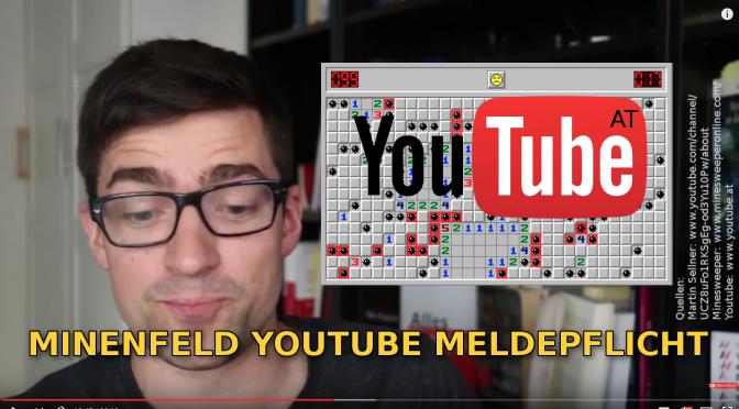 326 – Vermintes YouTube II – Wenn Meinungsfreiheit unter das Gewerberecht fällt!