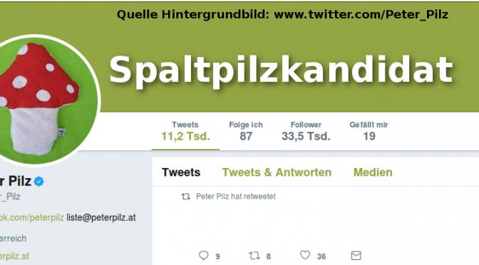 Peter Pilz kandidiert!