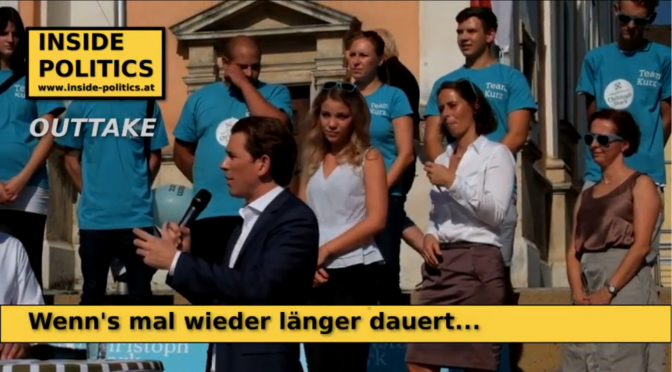Sebastian Kurz hat ein cooles Wahlprogramm