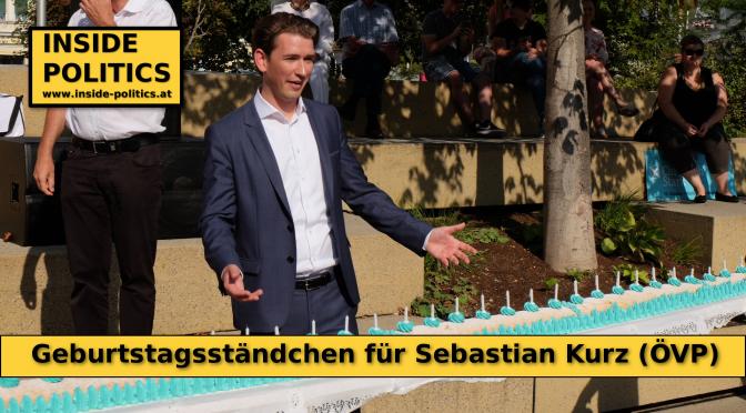 Sebastian Kurz feiert Geburtstag