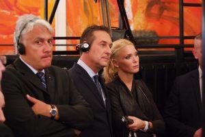 HC Strache-mit-Ehefrau-Phillipa-Beck