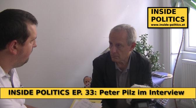 Peter Pilz (Liste Pilz) im Wahlkampfinterview, Inside Politics Ep. 33