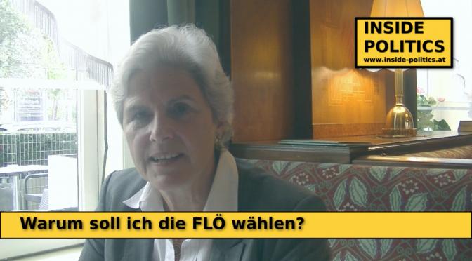 Warum soll ich FLÖ wählen? Barbara Rosenkranz in 30 Sekunden