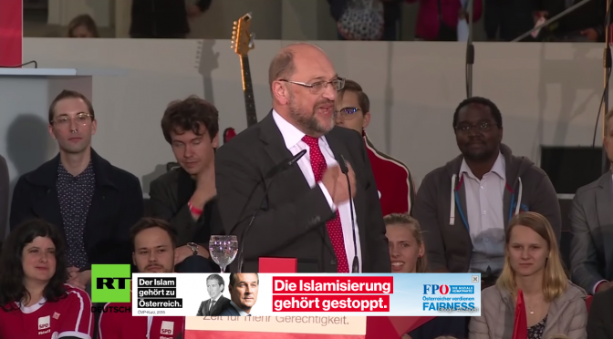 Martin Schulz wirbt jetzt für FPÖ!