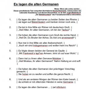 waffe der germanen