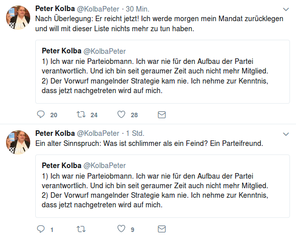 Peter Kolba-Ankündigung-Rücktritt