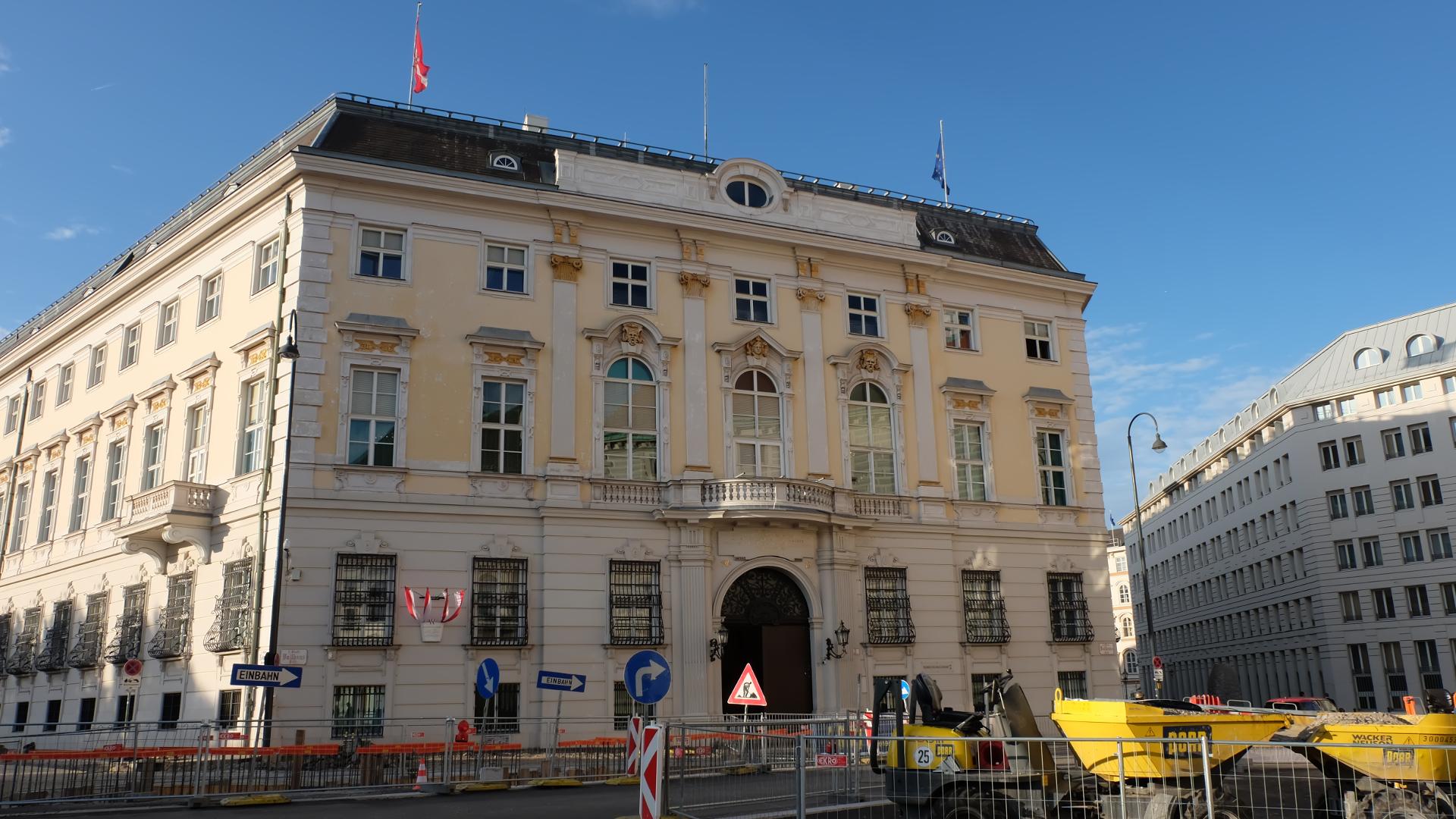 Bundeskanzleramt-Wien-Poller-im-Bau