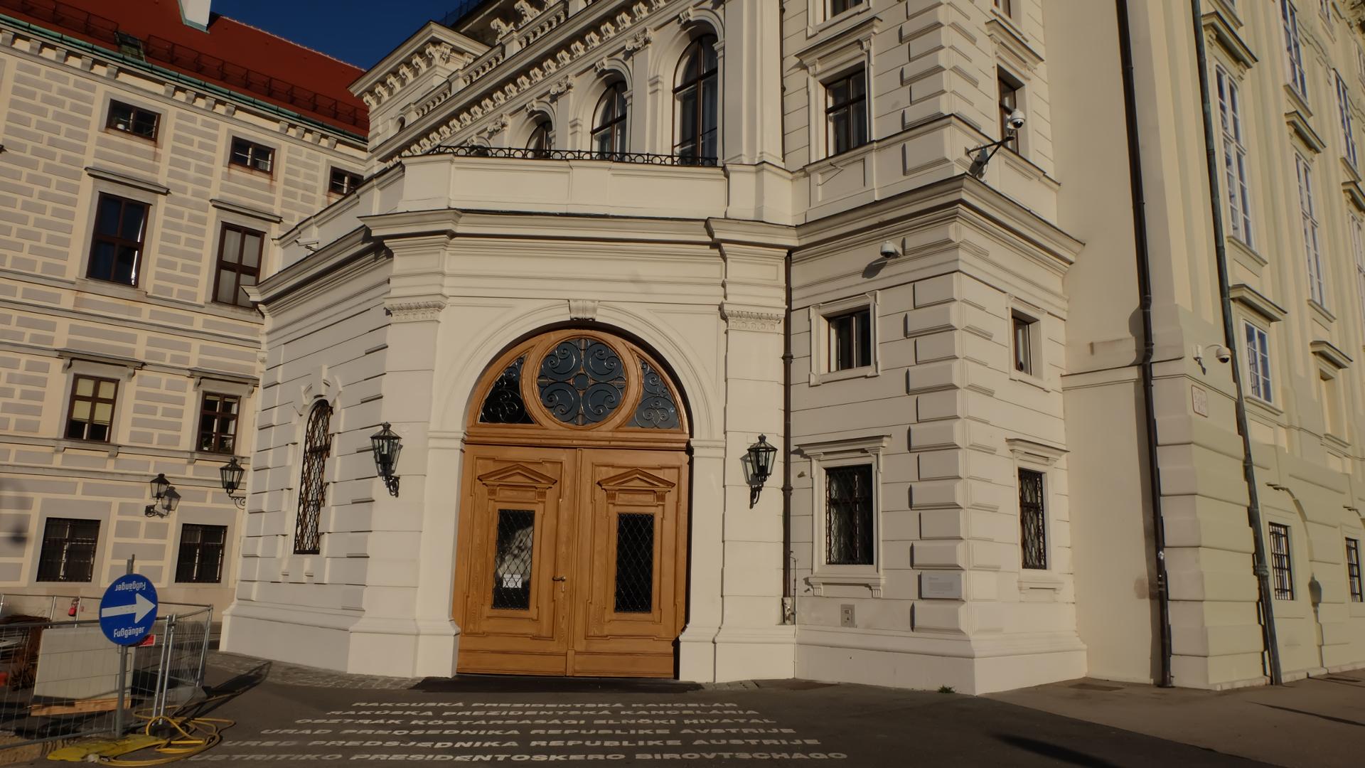 Putin-Besuch-Präsidentschaftskanzler-Hofburg