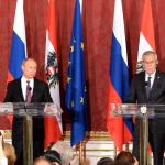 Vladimir Putin-und-Alexander Van der Bellen