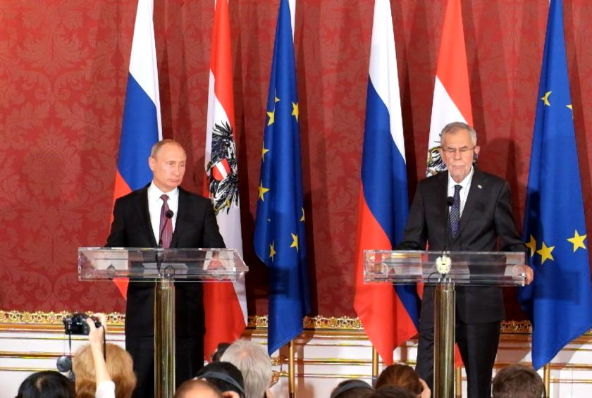Pressegespräch: Vladimir Putin und Alexander Van der Bellen, IP Ep: 39
