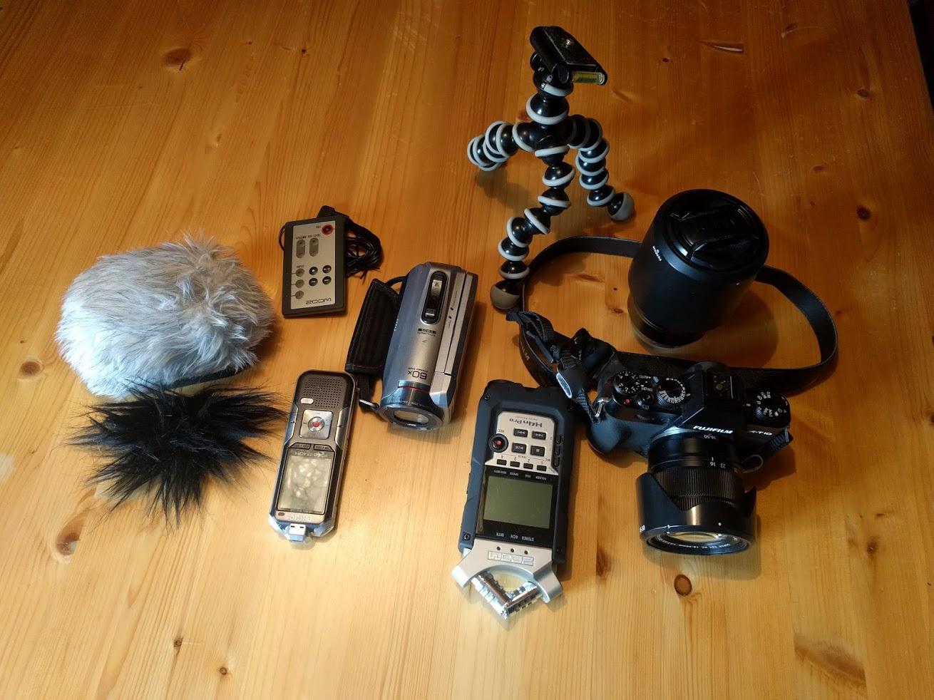 Kamera-Regorder-Inside-Politics-Ausrüstung