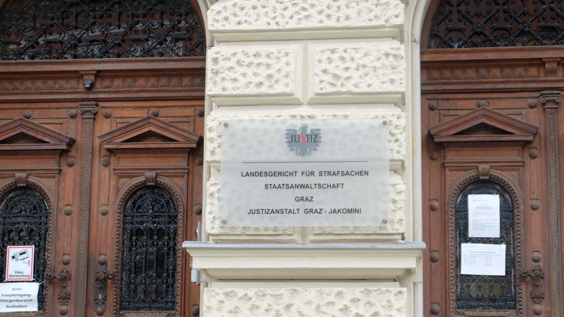 Identitären-Prozess-Strafrlandesgericht-Graz