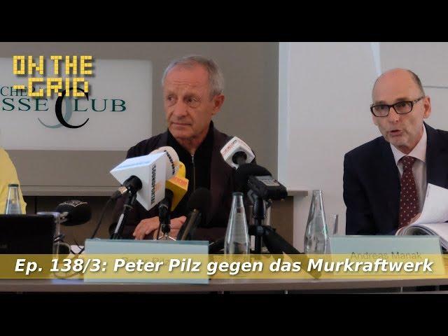 Peter Pilz-Murkraftwerk-Pressekonferenz