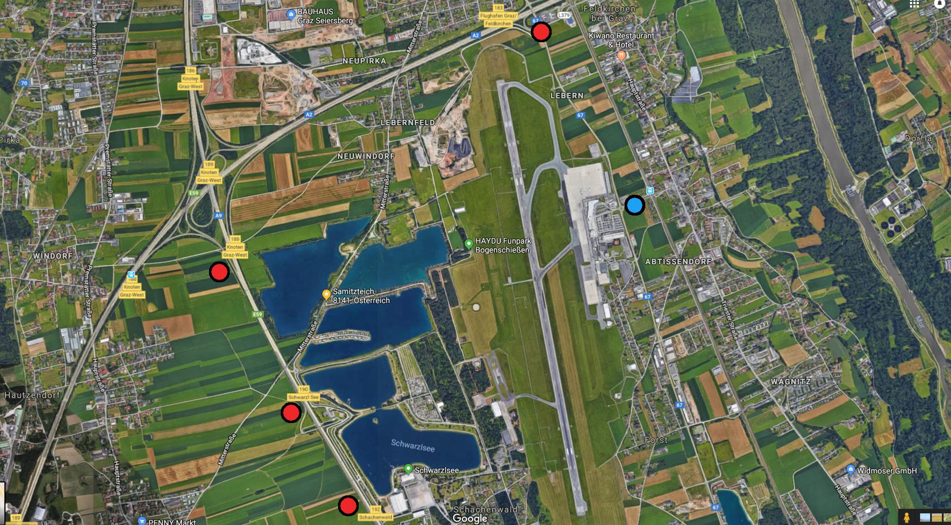 Putin-Besuch-Graz-Flughafen-Autobahn