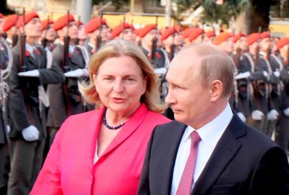 Kneissl-Putin-Besuch-Wien