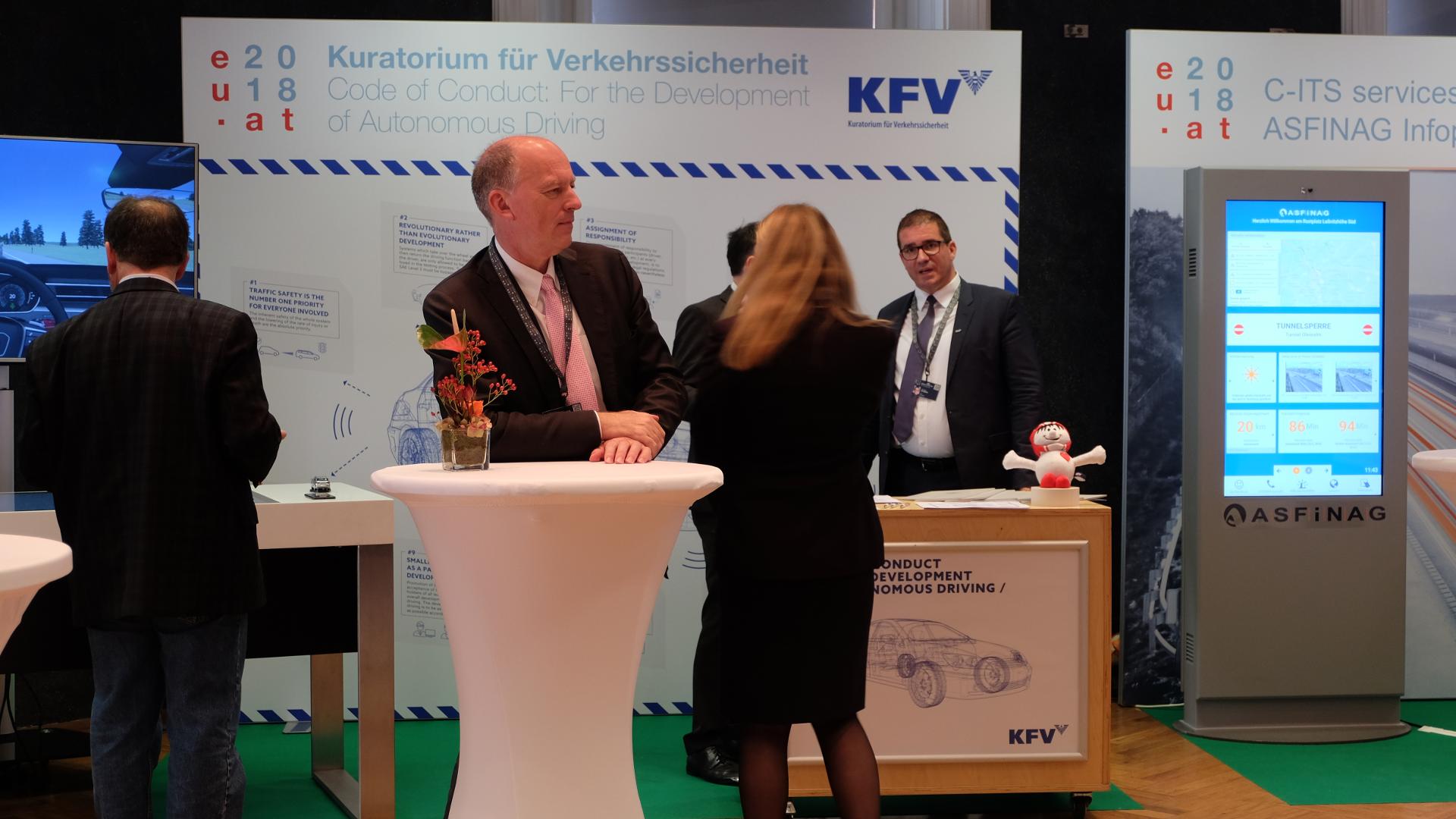 Informelles Treffen der EU Verkehrs und Umweltminister-Fachmesse-KFV-Kuratorium für Verkehrssicherheit