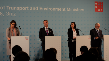 Informelles Treffen-EU-Umweltminister-EU-Verkehrsminister-Steiermark-Graz-Sophiensäle-Elisabeth Köstinger-Norbert Hofer-FPÖ-ÖVP