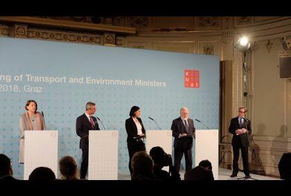 Informelles Treffen der EU28 Minister für Verkehr und Umwelt