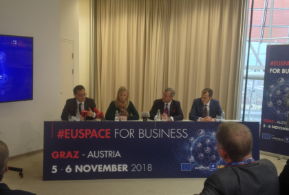 #EUSPACE – Space Conference in Graz (Austria),On The Grid 152/1