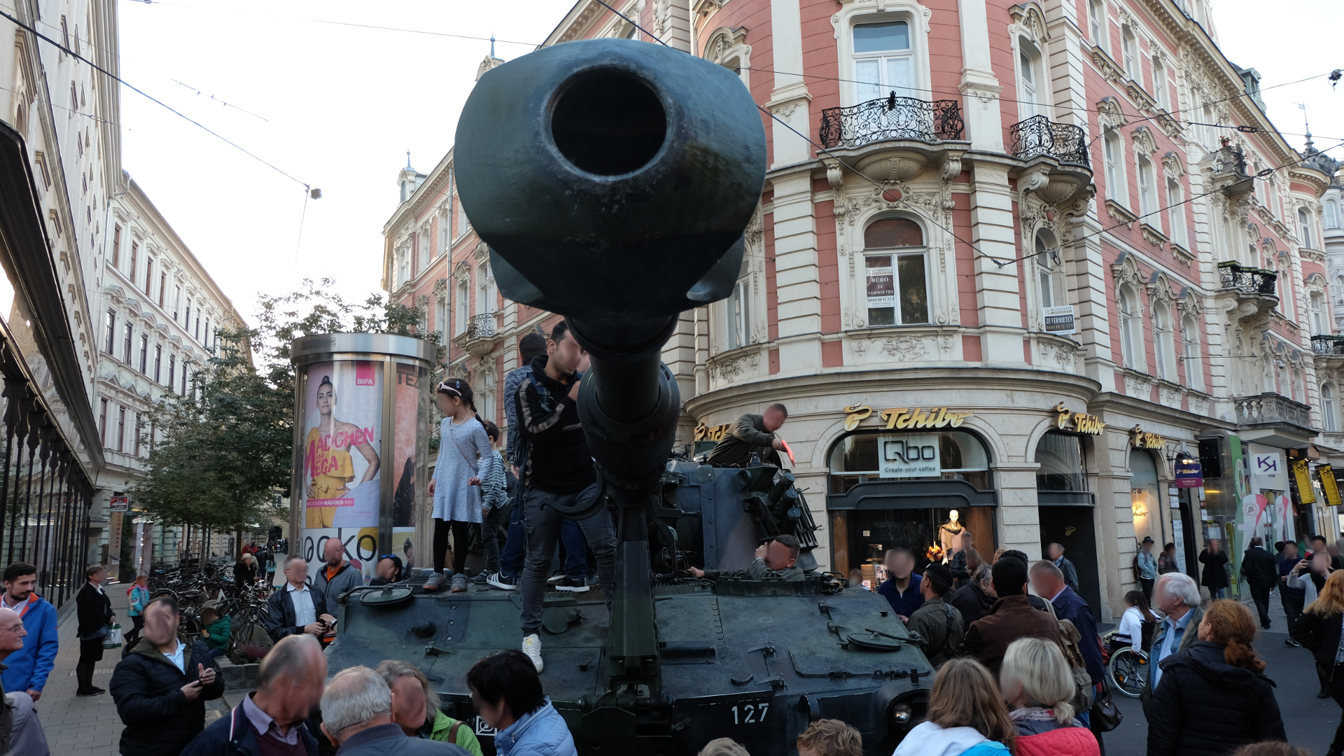 Spionage-M109-Artillerie-Graz-Nationalfeiertag