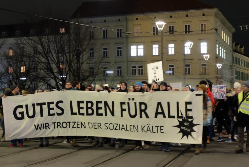 Erste Donnerstagsdemo in Graz, On The Grid Ep: 158