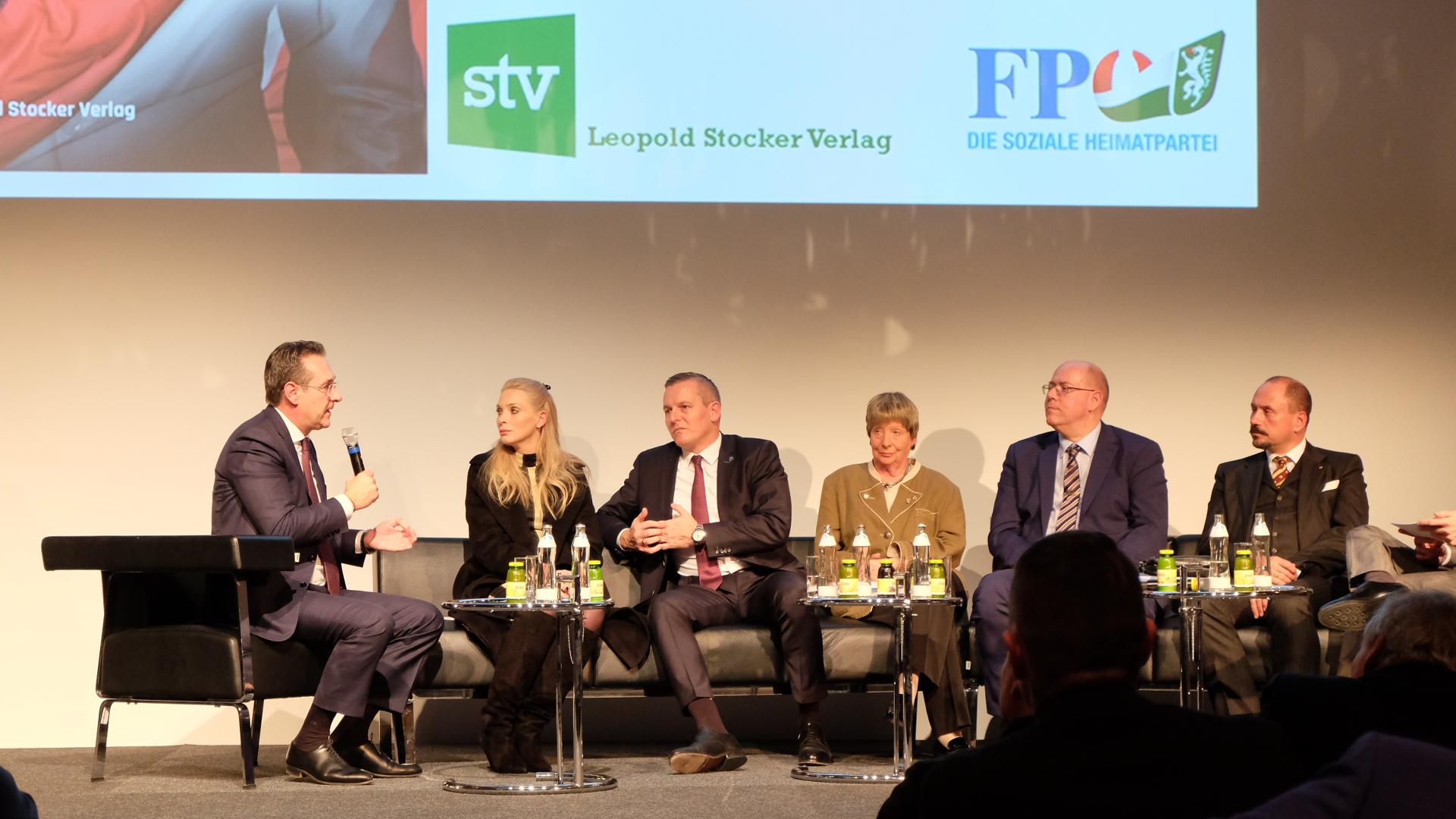 HC Strache-Philippa Strache, Mario Kunasek, Ursula Stenzel. Martin Hobek, Wolfgang Dvorak-Stocker