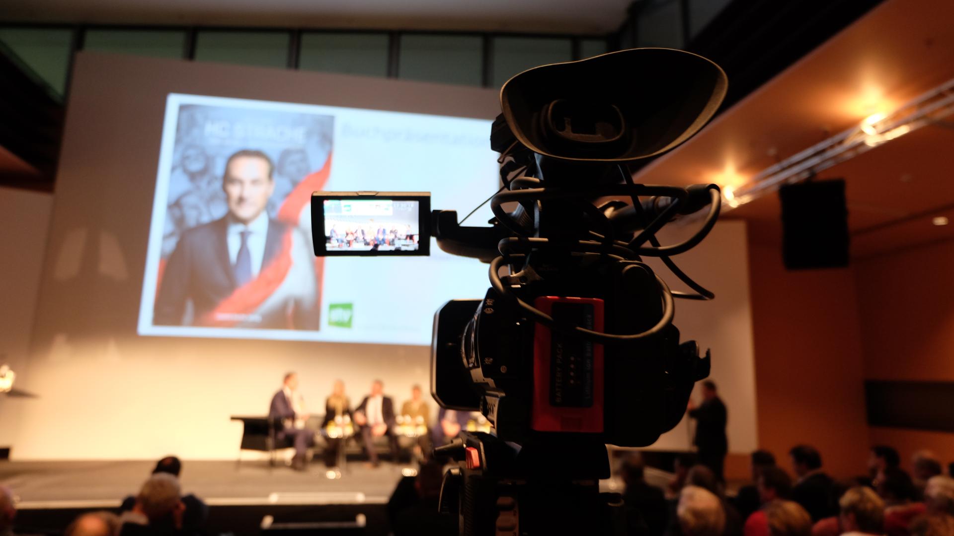 HC Strache-Hintergrund-Kamera-Biografie
