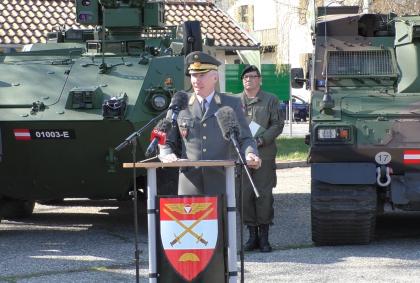 General-Robert Brieger-Bundesheer-Belgier Kaserne-Graz-Pandur-Hägglund-Wehrdienst