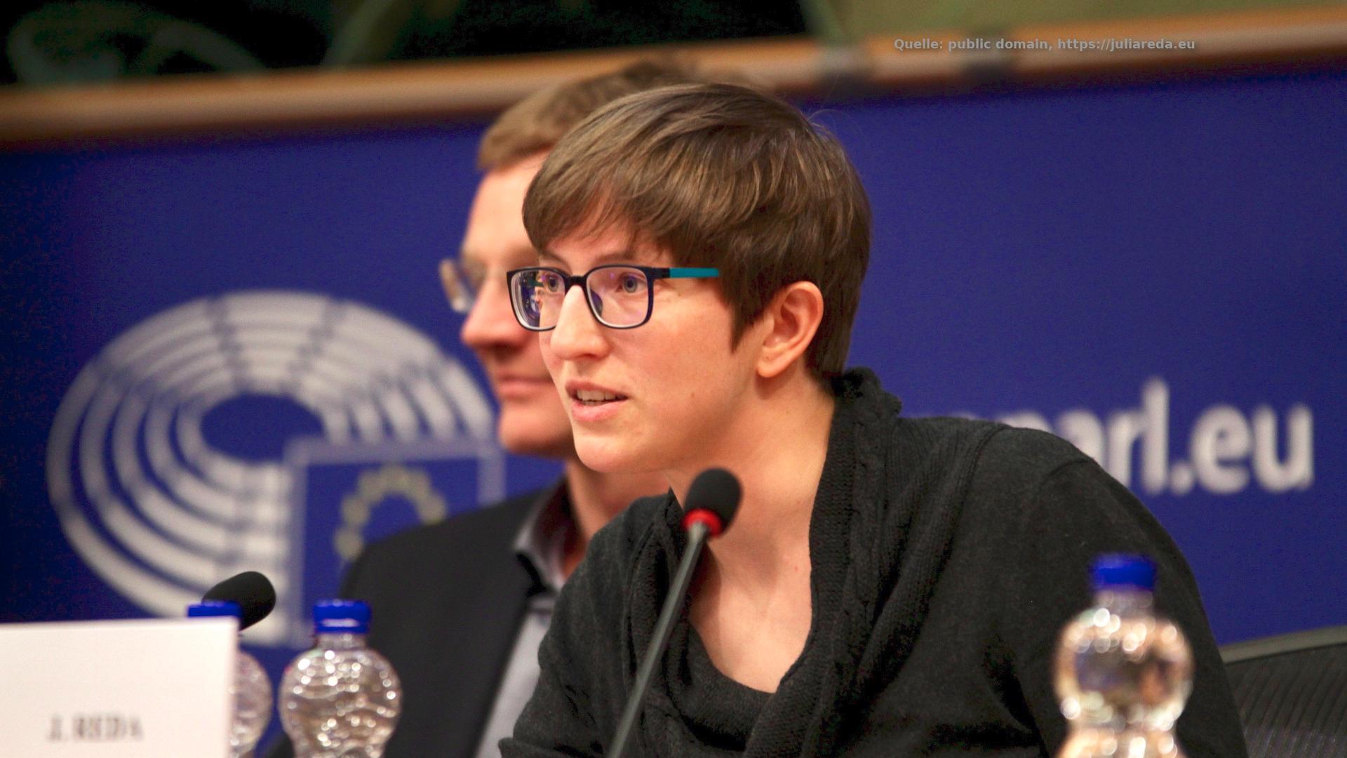 Julia Reda-Artikel13-EU Parlament-Brüssel-Urheberrecht