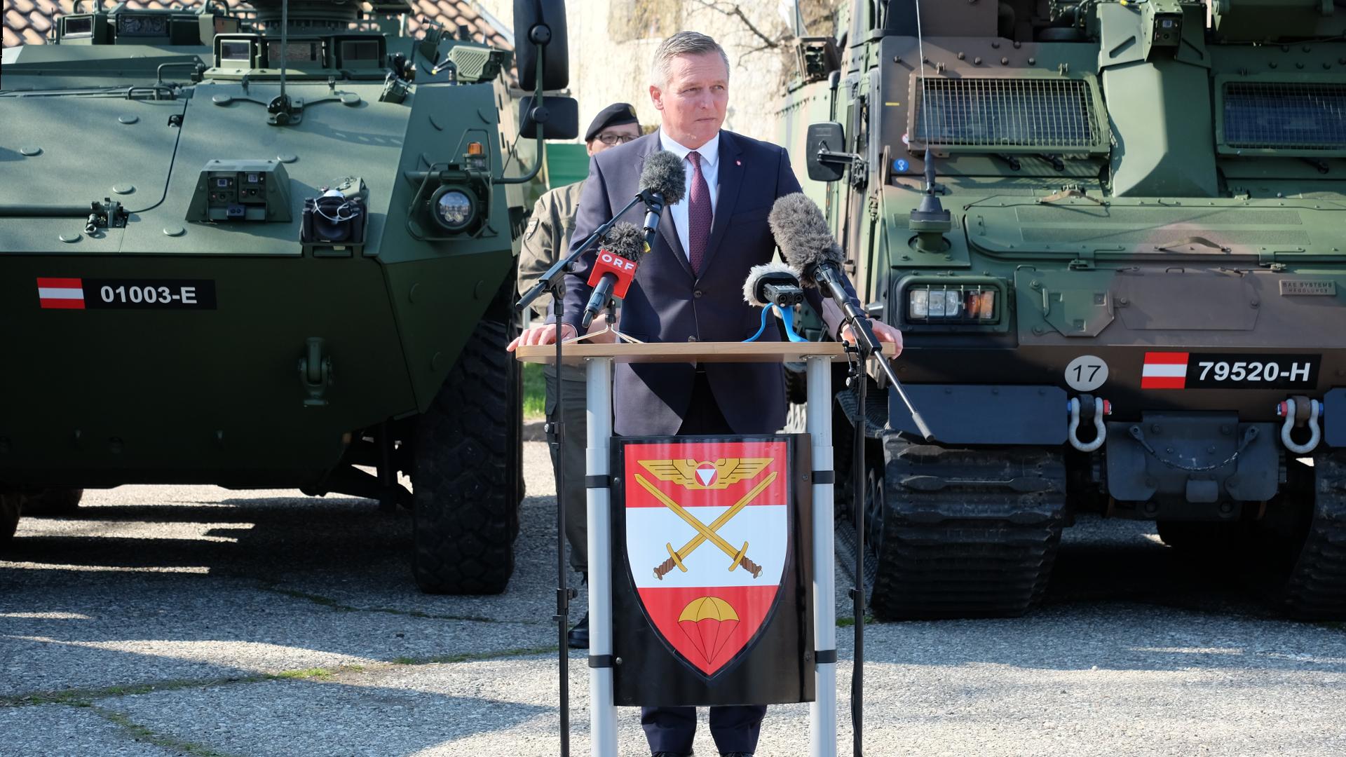 Kunasek-Landtag-Steiermark-Graz-Neuwahl-Belgier Kaserne-Bundesheer-Verteidigungsminister