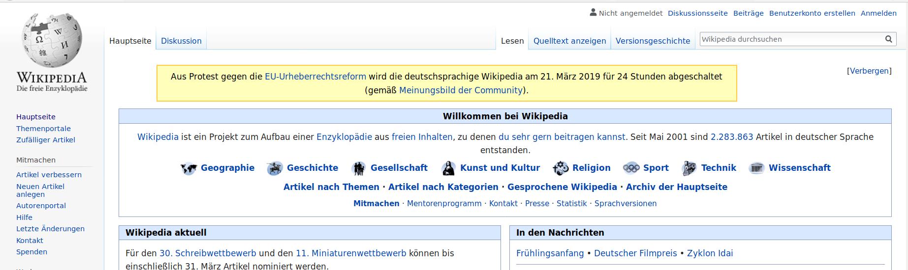Wikipedia-Protest-210319-Österreich-Deutschland-Politik-Artikel 13