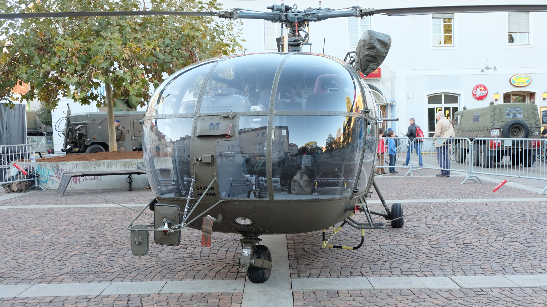 Alouette 3-Bundesheer-Graz-Österreich-Nationalfeiertag-Luftstreitkräfte-Hubschrauber-Grundwehrdienst