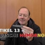 Martin Sonneborn-Artikel 13-Die Partei-Titanic-Deutsche Humornorm