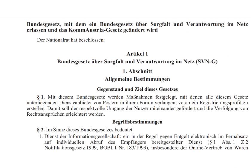 Brisante Details zur Klarnamenpflicht für österreichische Internetnutzer, On The Grid Ep: 186
